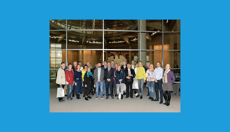 2. Besuchergruppe in Berlin