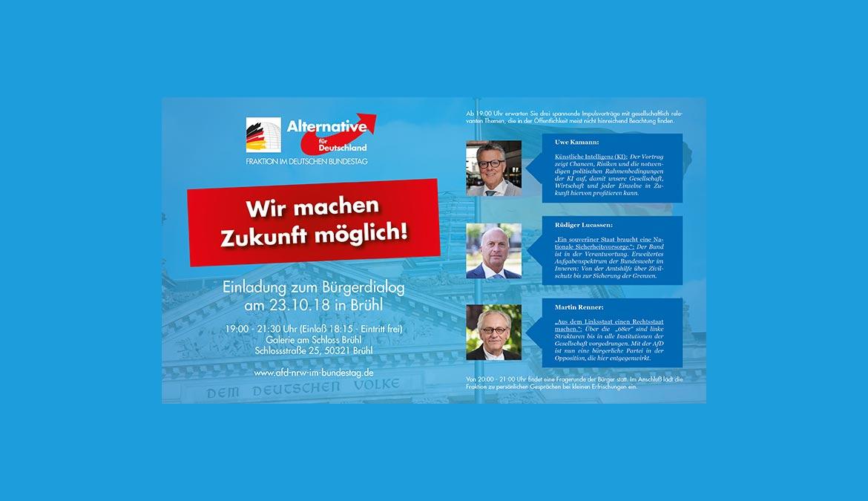 Einladung zum Bürgerdialog