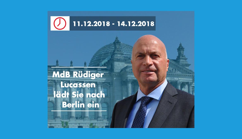 Einladung nach Berlin