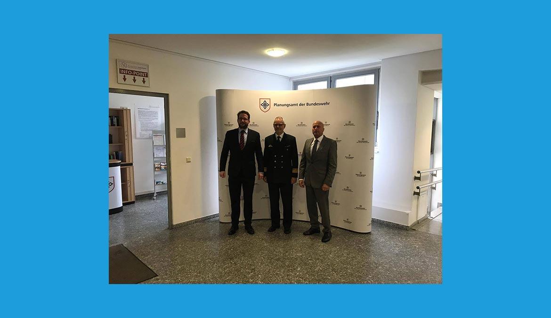 Besuch des Planungsamtes der Bundeswehr in Berlin