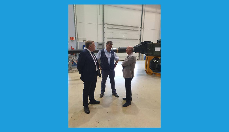 Besuch in den Panzerwerkstätten der Bundeswehr