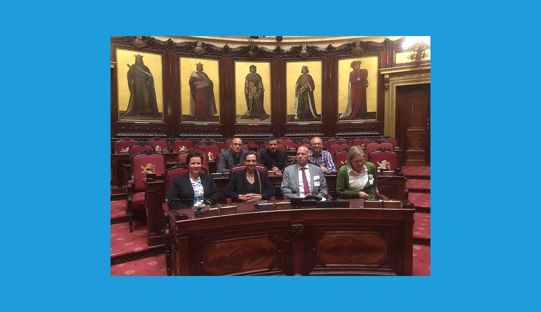 Besuch des Belgischen Parlaments