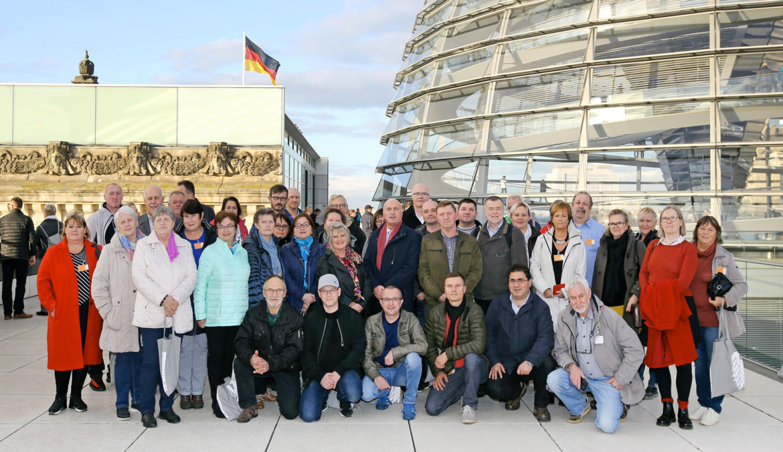 Meine 5. Besuchergruppe im Deutschen Bundestag