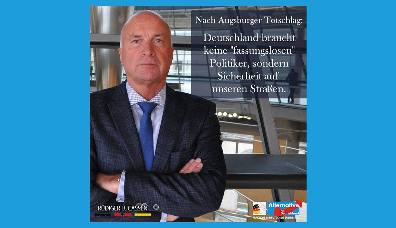 """++ Nach Augsburg: Null-Toleranz statt """"Deeskalation"""" ++"""