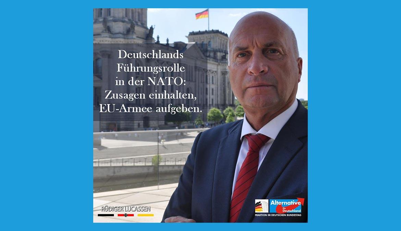 ++ Deutschlands Sicherheit hängt auch von der NATO ab ++
