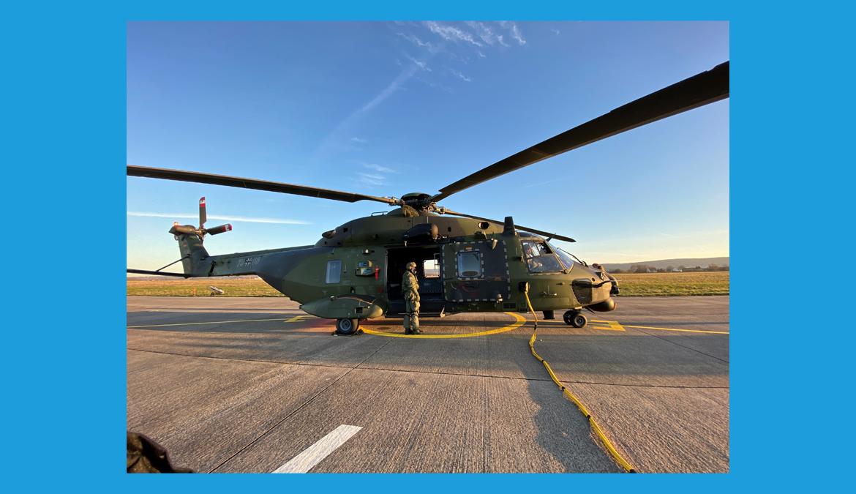 Hubschrauberausbildungszentrum der Bundeswehr in Bückeburg