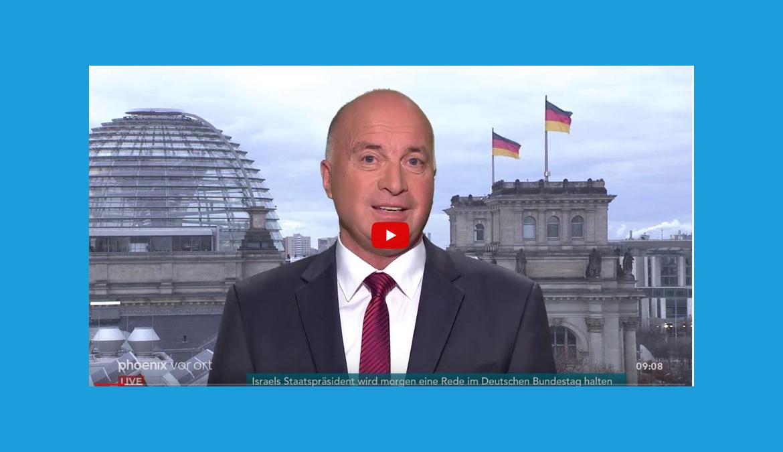 Rüdiger Lucassen im phoenix Tagesgespräch am 28.01.20