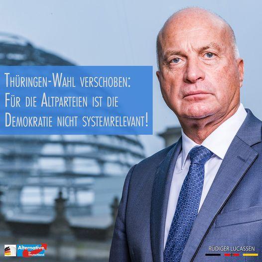 +++ Nur die AfD stimmt für die Thüringen-Wahl im März +++