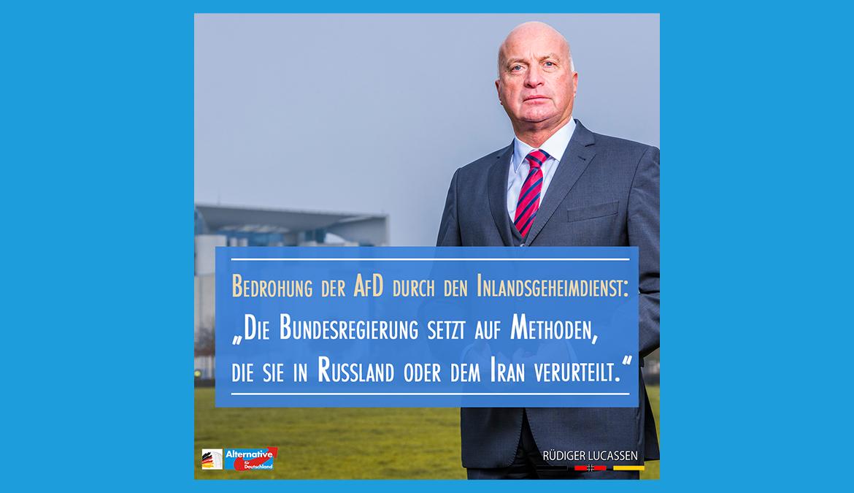 +++ Verfassungsschutz und AfD +++