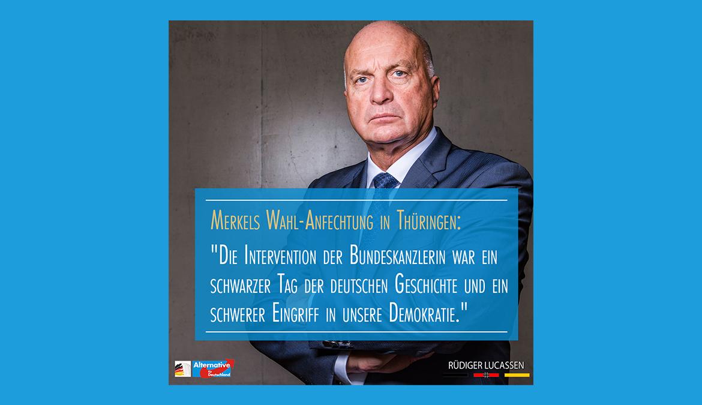 +++ Der Amtsmissbrauch Merkels +++