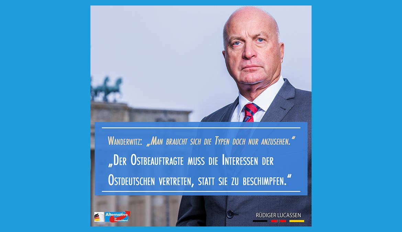 +++ Marco Wanderwitz (CDU) beleidigt die Bürger in Ostdeutschland +++