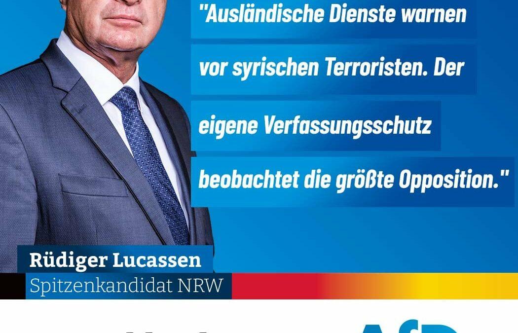 +++ Terror abwehren statt die Opposition bespitzeln +++
